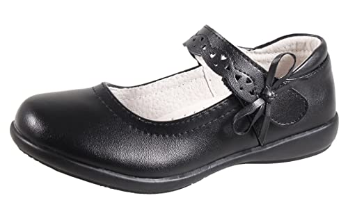 99a0932082 QHamThim Girls Mary Jane Uniform Dress Oxford Black School Outdoor  Shoe(Toddler/Little Kid/Big Kid)