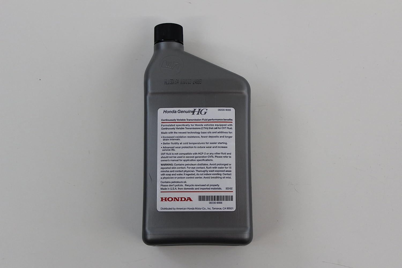 Honda Fluid 08200 9006 Cvt 1 Stufenlos Regelbare Getriebeflüssigkeit 1 Quart Auto