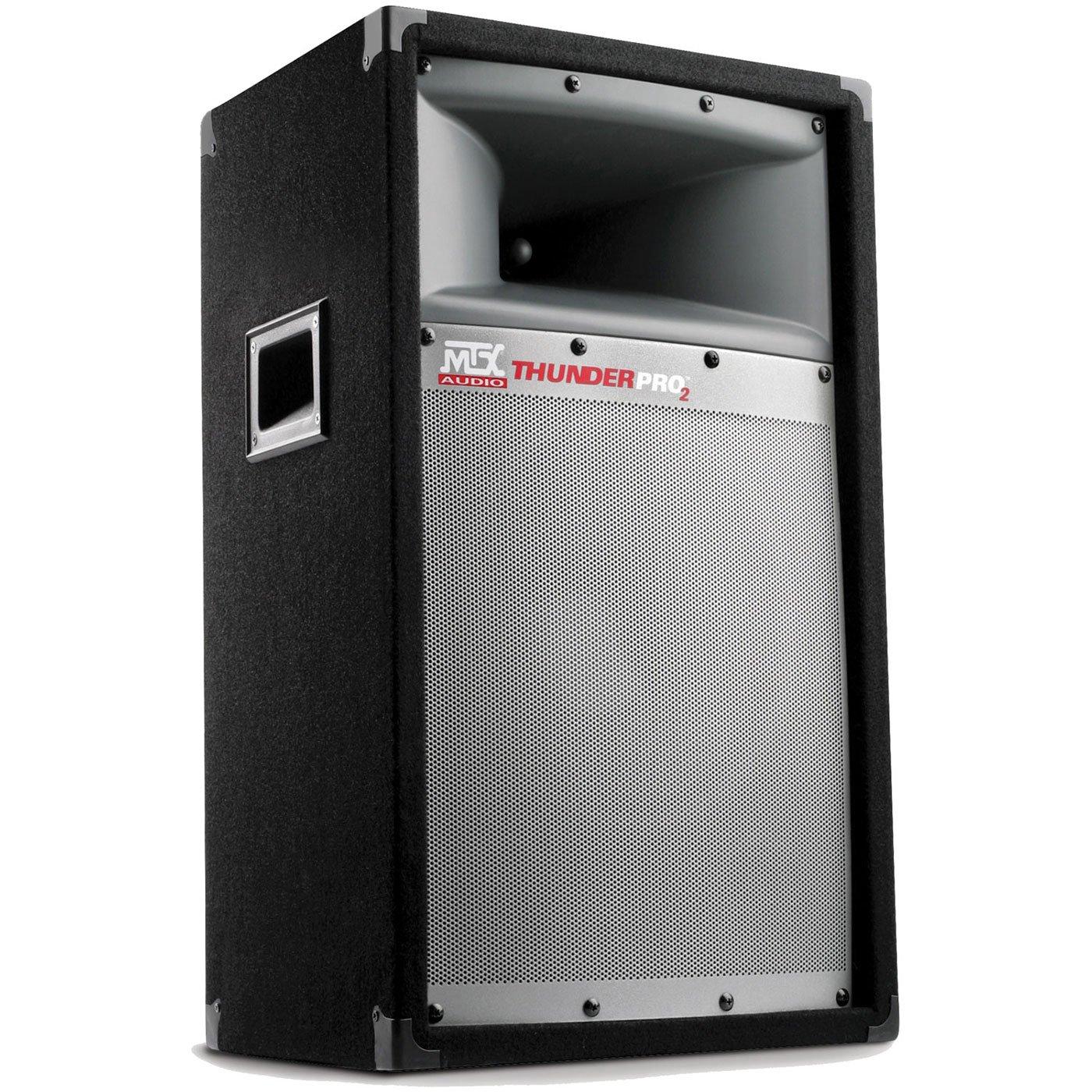 Mtx Tp1200 Audio Thunderpro Ii 2 Way Professional Baby Boomer 600w Dual 8quot Subwoofer Electronicswoot Loudspeaker Electronics