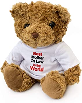 London Teddy Bears Orsacchiotto di Peluche con Scritta in Inglese