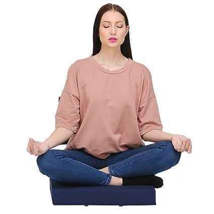 Orion 7 Medi-Buddy Meditation Floor Chair - Navy Blue