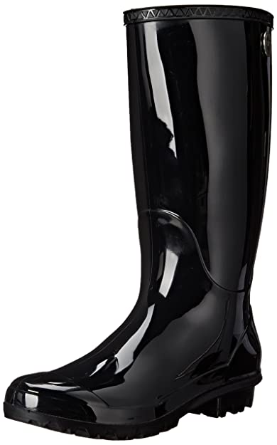 UGG, Sienna Damen Gummi Stiefel , black (39 EU)