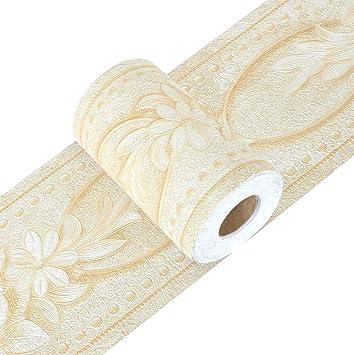 Yoillione Peel And Stick Wallpaper Border Self Adhesive Border