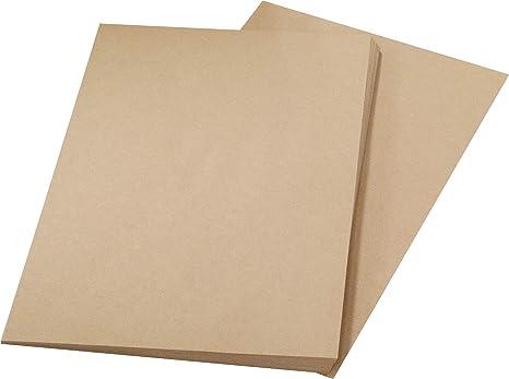 Amazon   A4 クラフト紙 薄口 100枚   クラフト紙   文房具・オフィス用品