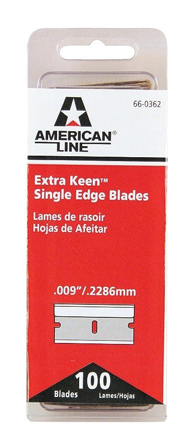 american line single edge blades