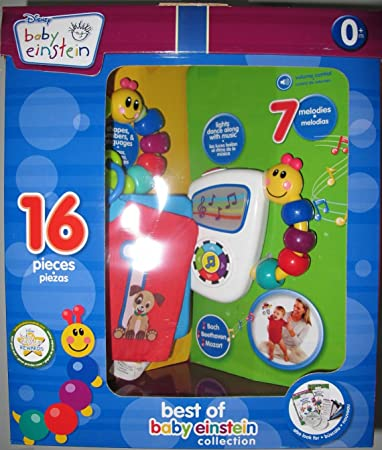 Amazon.com : Baby Einstein Christmas Gift Set-16 Pieces : Baby ...