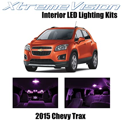 Xtremevision Interior Led For Chevy Trax 2015 7 Pieces Pink Interior Led Kit Installation Tool Tool
