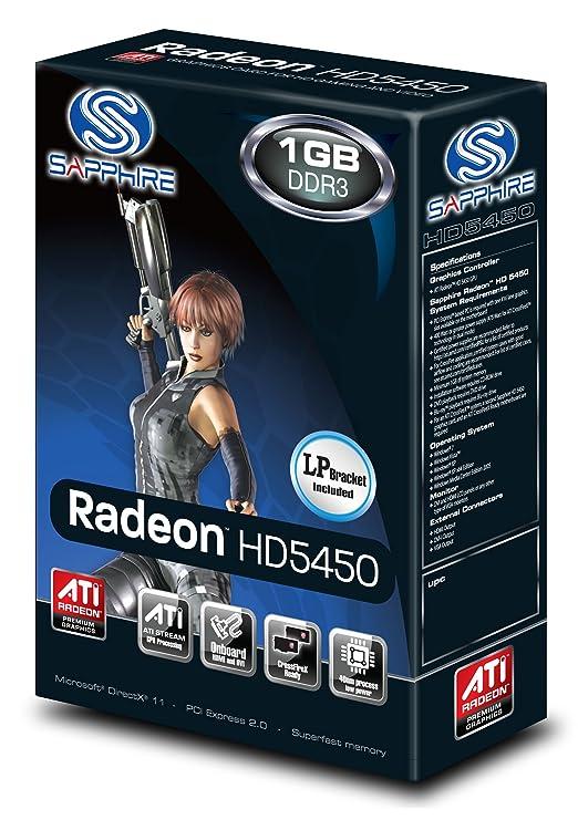 Sapphire Radeon HD 5450 1 GB DDR3 HDMI/DVI-I/VGA PCI-Express Graphics Card  100292DDR3L