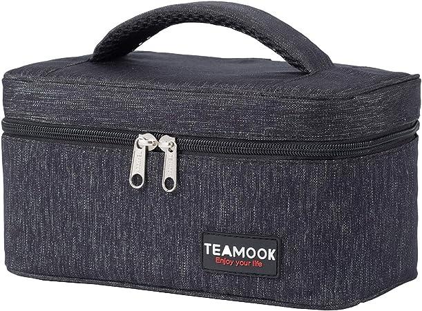 Enfants Adultes Portable Sac à Lunch isolé thermique Cooler Box Carry fourre-tout De Voyage H
