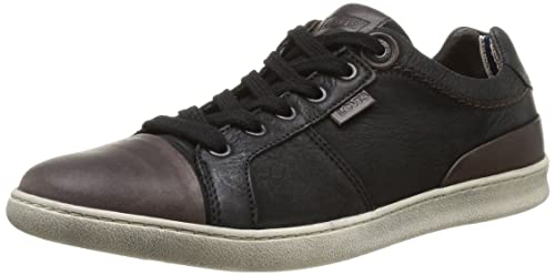 Levi's Tulare Pt Toe Cap Low Lace - Zapatillas, color Black 059, talla 40