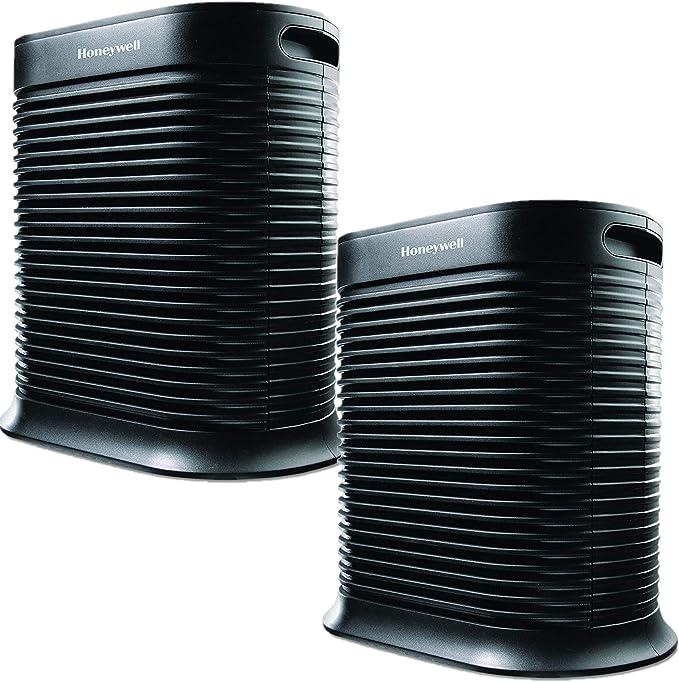 Honeywell True HEPA - Eliminador de alérgenos, 465 pies Ft, HPA300 (2 unidades): Amazon.es: Hogar
