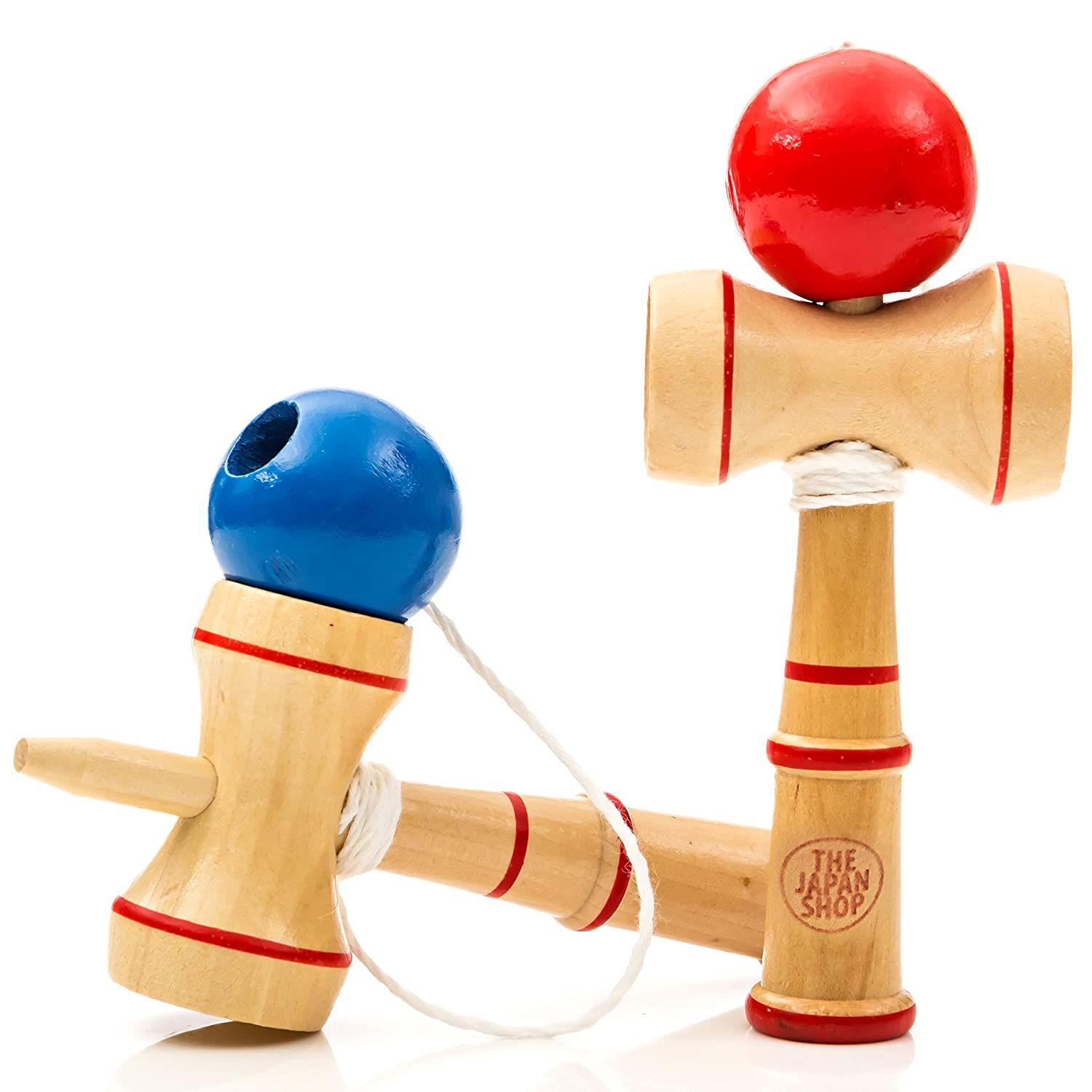 Japanese Toys And Games : The japan shop pocket kendama wooden mini traditional