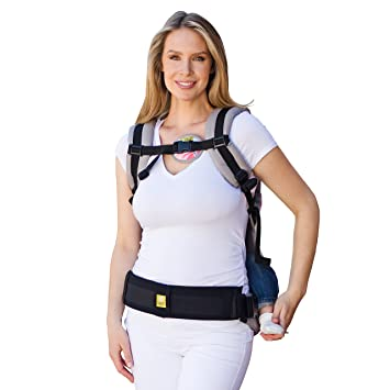 Lillebaby Baby Carrier Tummy Pad Black Small