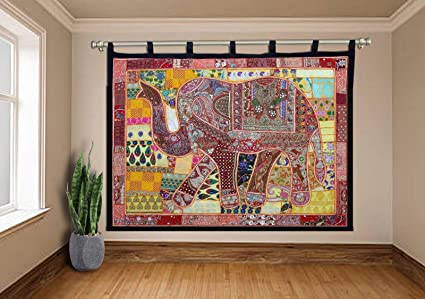 Amazon Com Triveni Art Crafts Ethnic Vintage Bohemian Patchwork