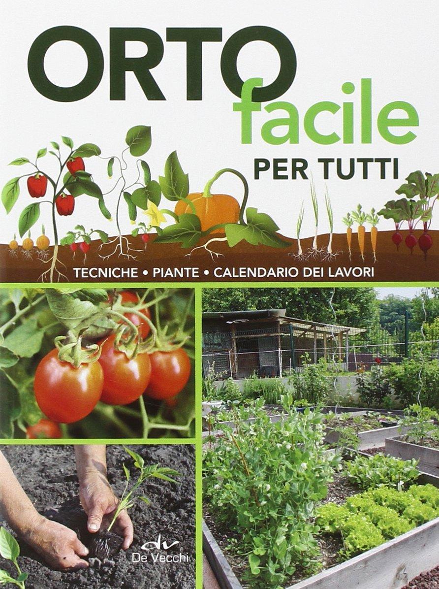 Calendario Piante Orto.Amazon It Orto Facile Per Tutti Tecniche Piante