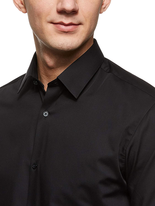 JACK /& JONES Jprnon Iron Shirt L//S Noos Camicia Formale Uomo