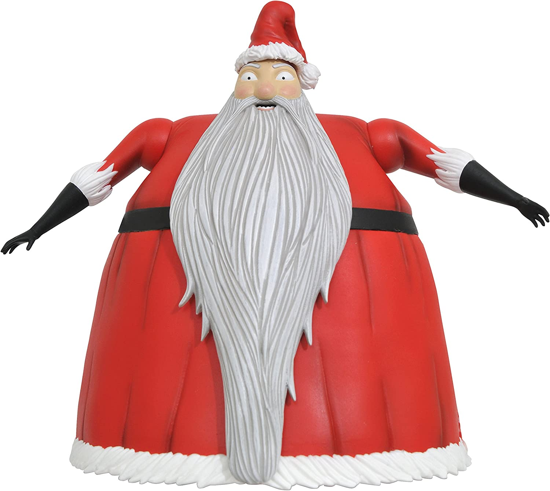 Nightmare Before Christmas Select Series 2 Santa Jack Skellington Action Figure