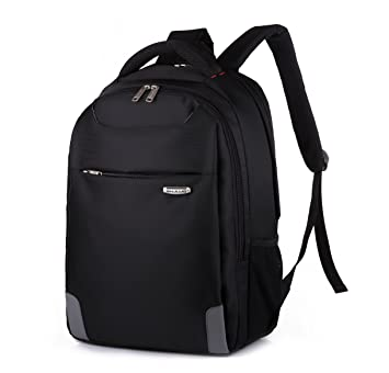 Mochila de viaje hombro hombre tela Oxford Tote Bag mochilas escolares estudiantiles bolsa de ordenador, negro: Amazon.es: Equipaje