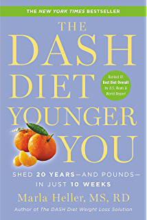 Amazon the dash diet action plan proven to lower blood the dash diet younger you shed 20 years and pounds in fandeluxe Image collections