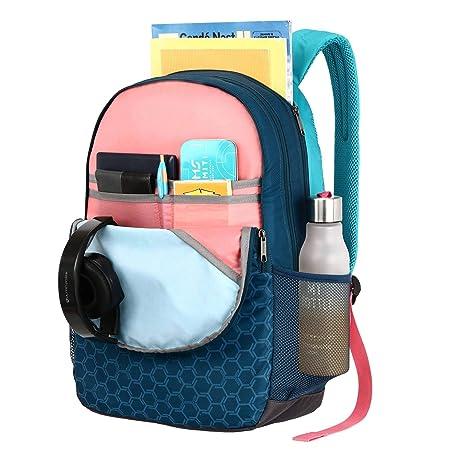 Lavie Sport 34 Ltrs Teal School Backpack
