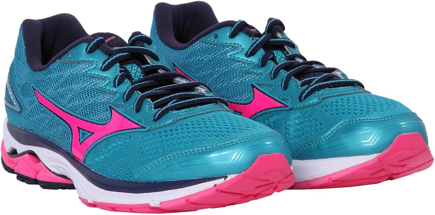 Mizuno Wave Rider 20 Womens Zapatillas para Correr - 36.5: Amazon.es: Zapatos y complementos
