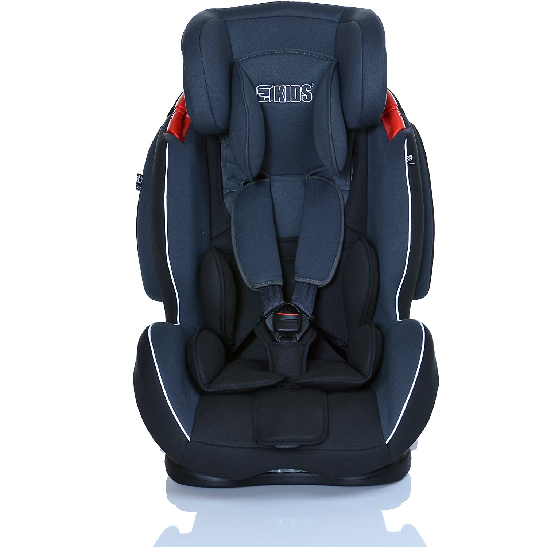 LCP Kids Auto-Kindersitz GT 9-36 kg mit Schlafposition; Farbe Schwarz