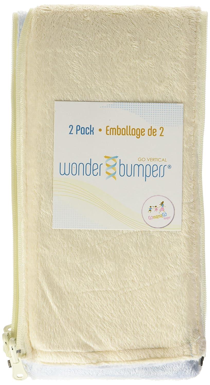 Blue//Chocolate Go Mama Go Designs Wonder Bumpers 2-Pack