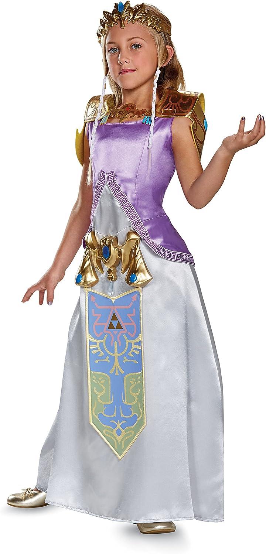 Zelda Deluxe Legend of Zelda Nintendo Costume, Small/4-6X