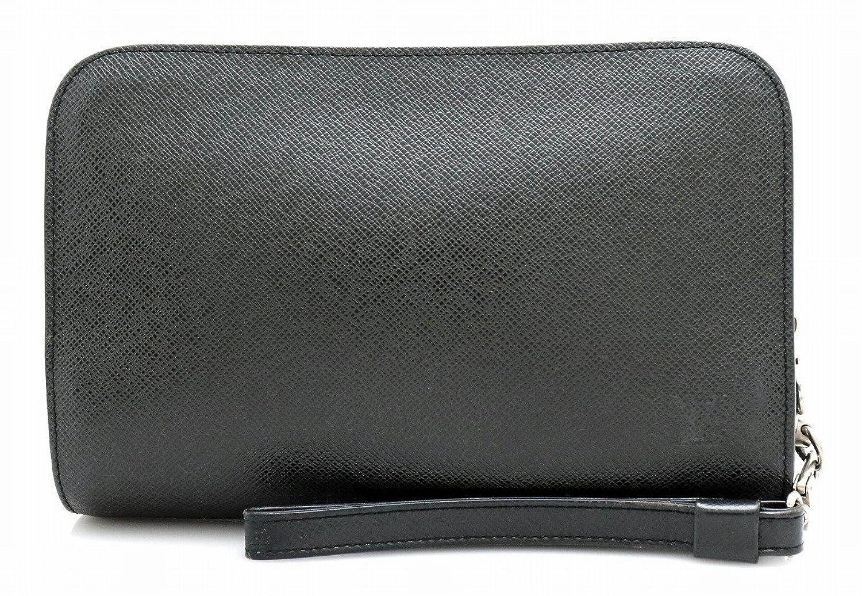[ルイ ヴィトン] LOUIS VUITTON タイガ バイカル セカンドバッグ ハンドバッグ レザー アルドワーズ 黒 ブラック M30182 B07D5WBWPN