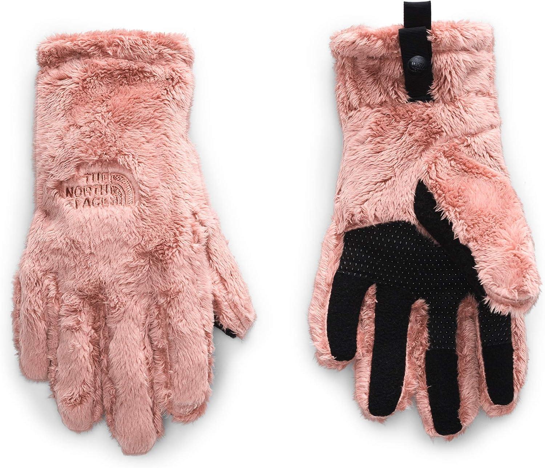 Big Kids The North Face Kids Girls Osito Etip Gloves Pink Clay MD 10-12 Big Kids