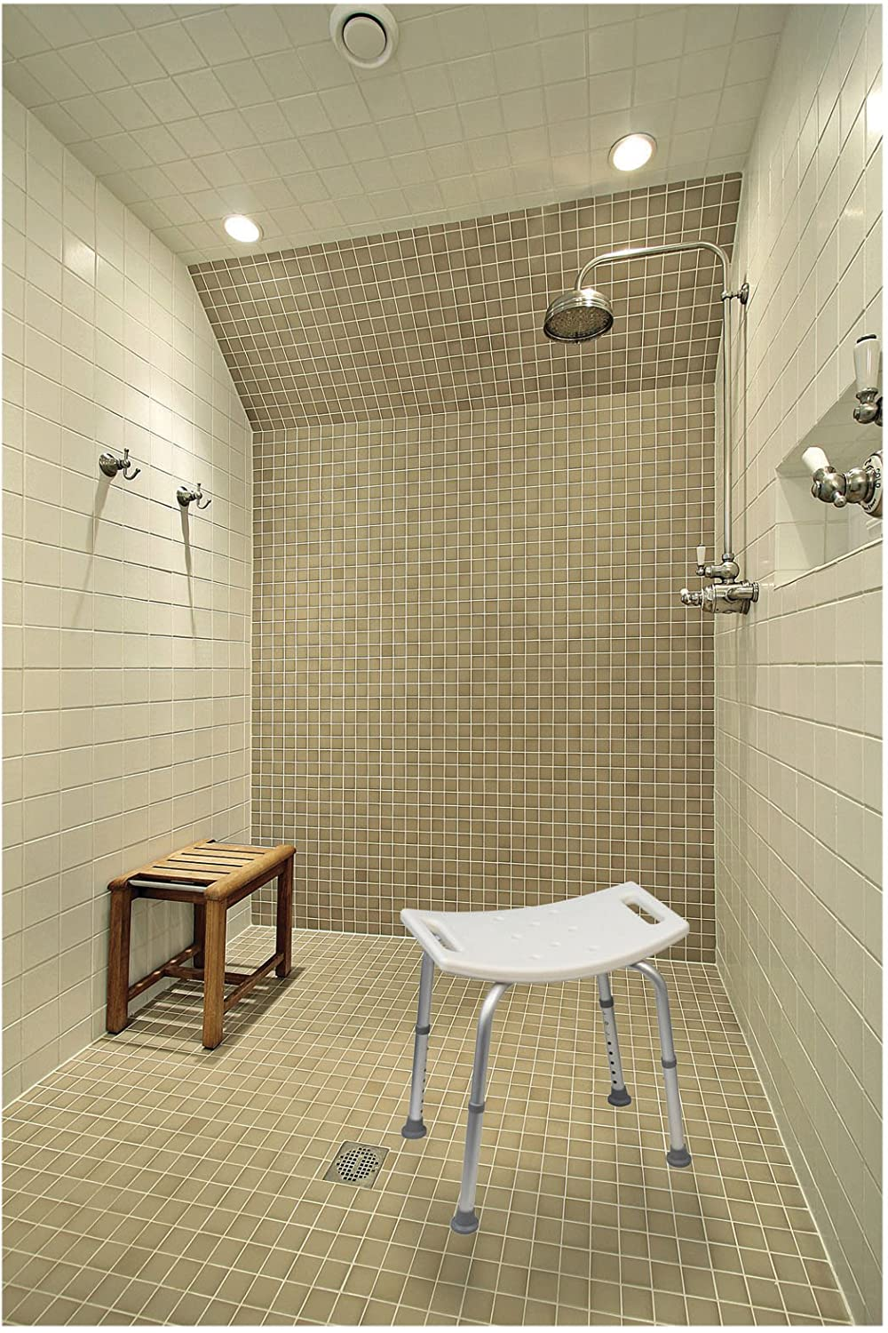 Aidapt Shower Stool (Eligible for VAT relief in the UK): Amazon.co ...