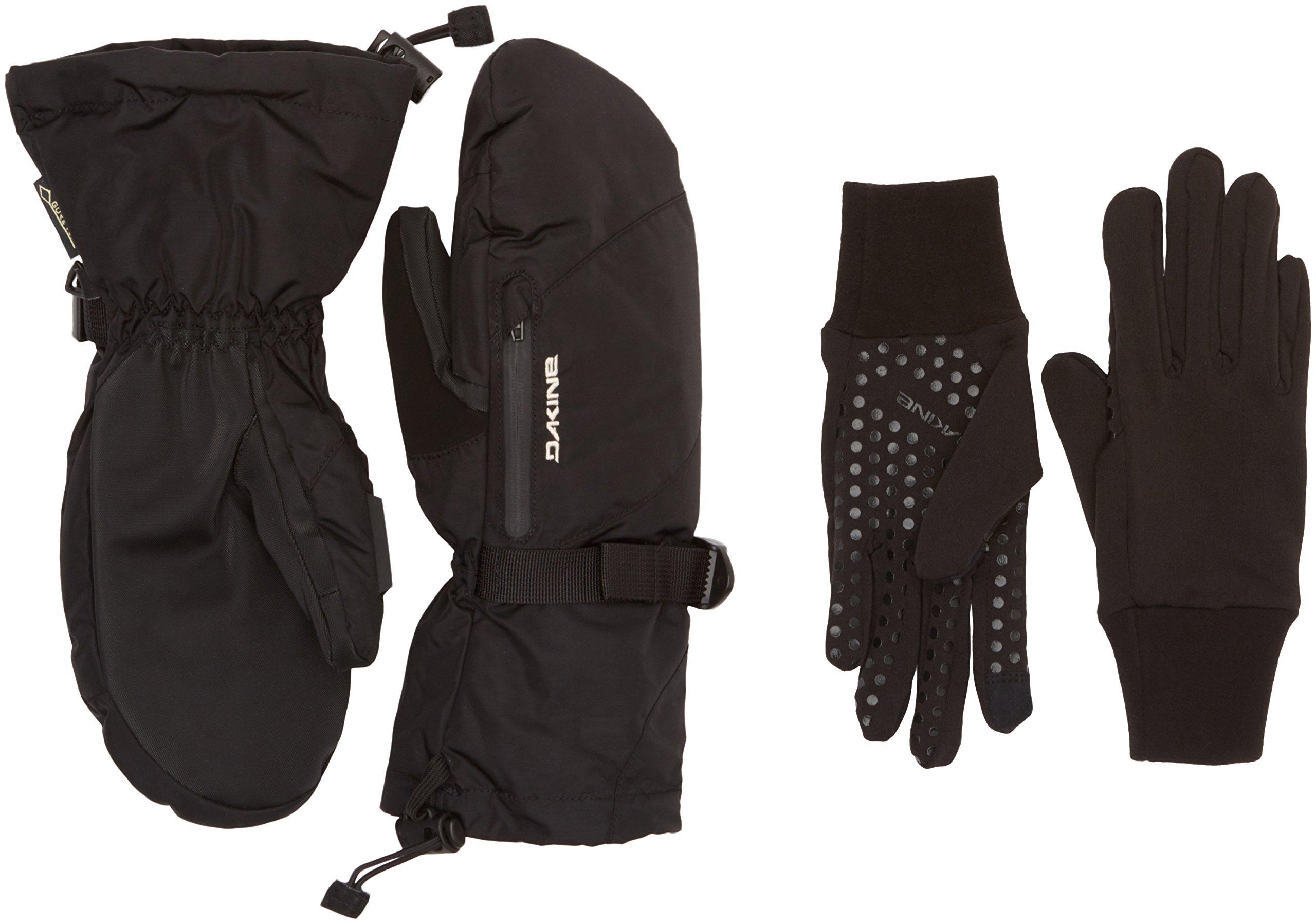 Dakine Women's Sequoia Mitt Gloves, Black, L