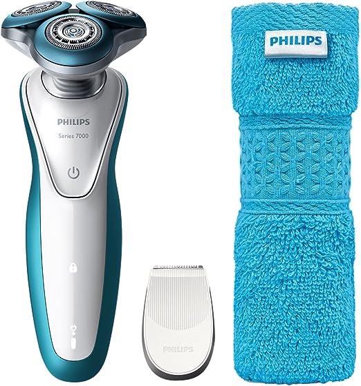 Philips Afeitadora eléctrica en seco y húmedo S7311/66 Máquina de ...