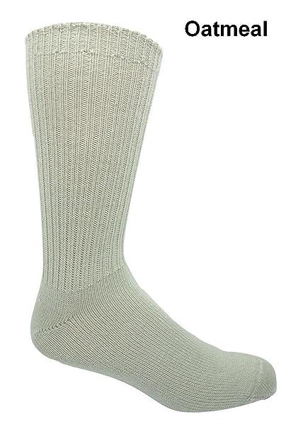 96% Merino lana no vinculante Casual calcetines (3 pares) - Marrón -