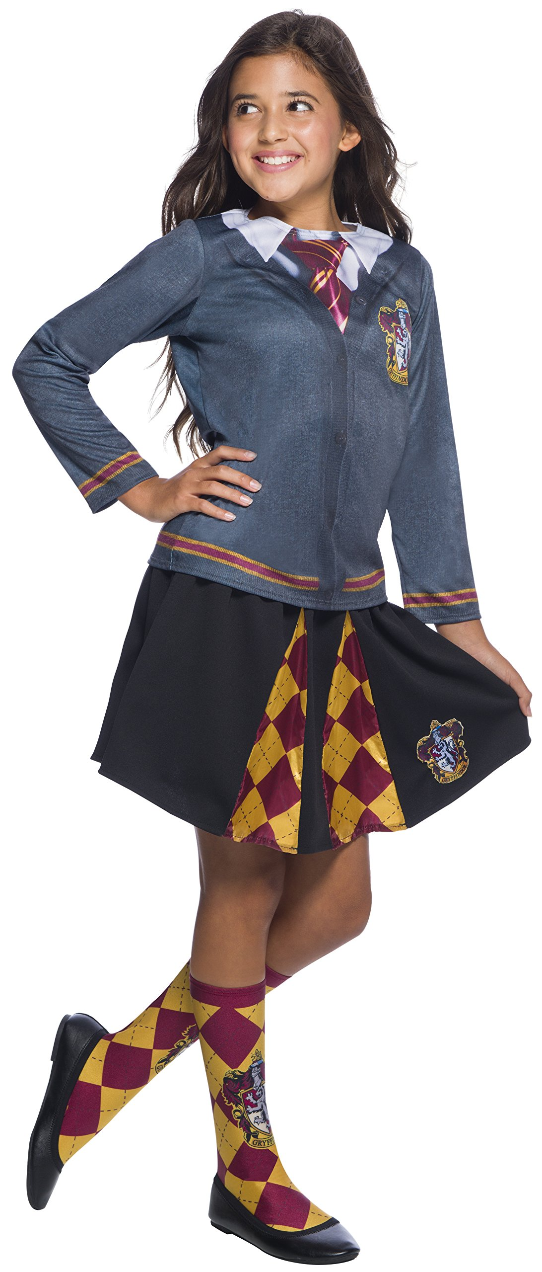 Rubie's Costume Co Girlsharrypotterskirt, Gryffindor, Onesize