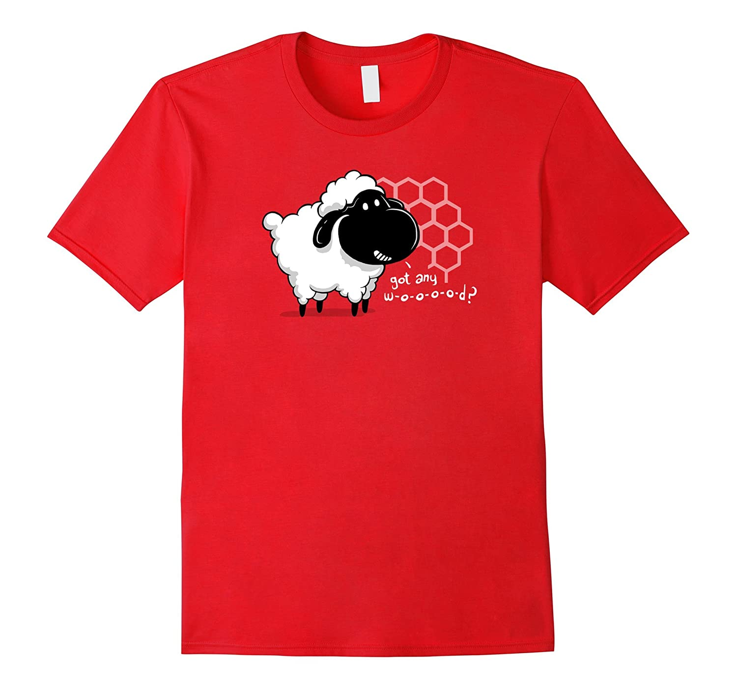 Catan You Give Me Wood Board Game Geek T-Shirt with Cute Sheep-BN