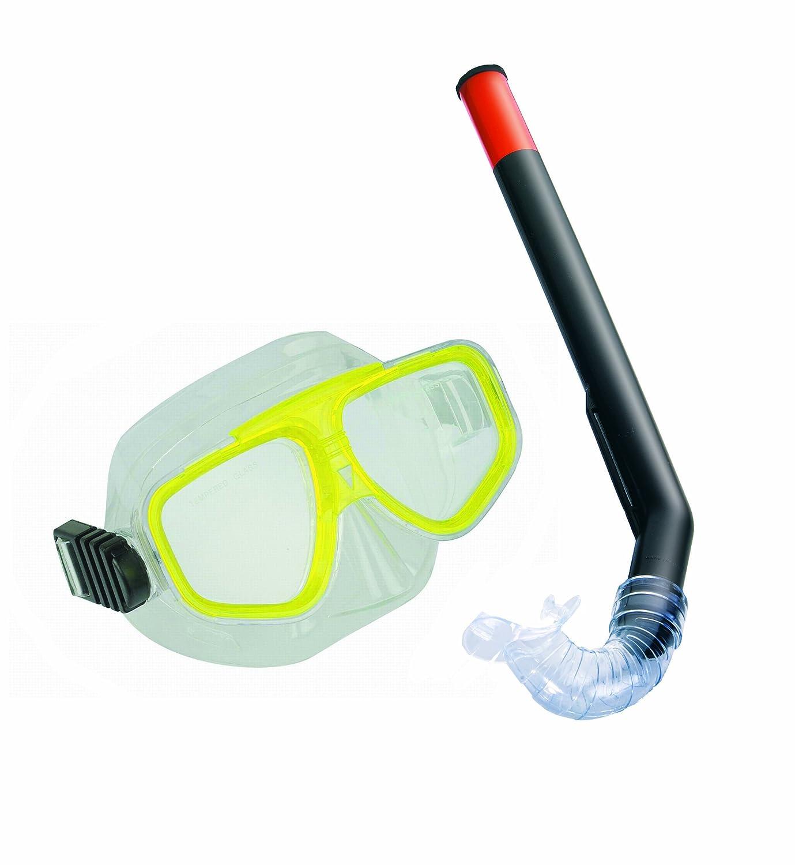 Fashy Juego de gafas y tubo de buceo para niños verde verde Talla:talla única: Amazon.es: Deportes y aire libre