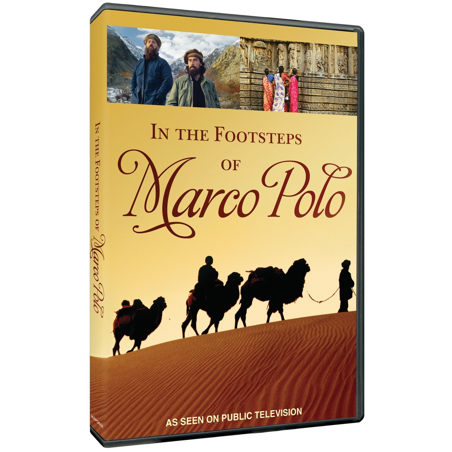 In the Footsteps of Marco Polo [Reino Unido] [DVD]: Amazon.es ...