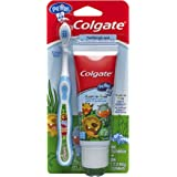 Colgate My First Baby and Toddler Toothpaste and Toothbrush, 1 Pack-Toothpaste & Toothbrush Set