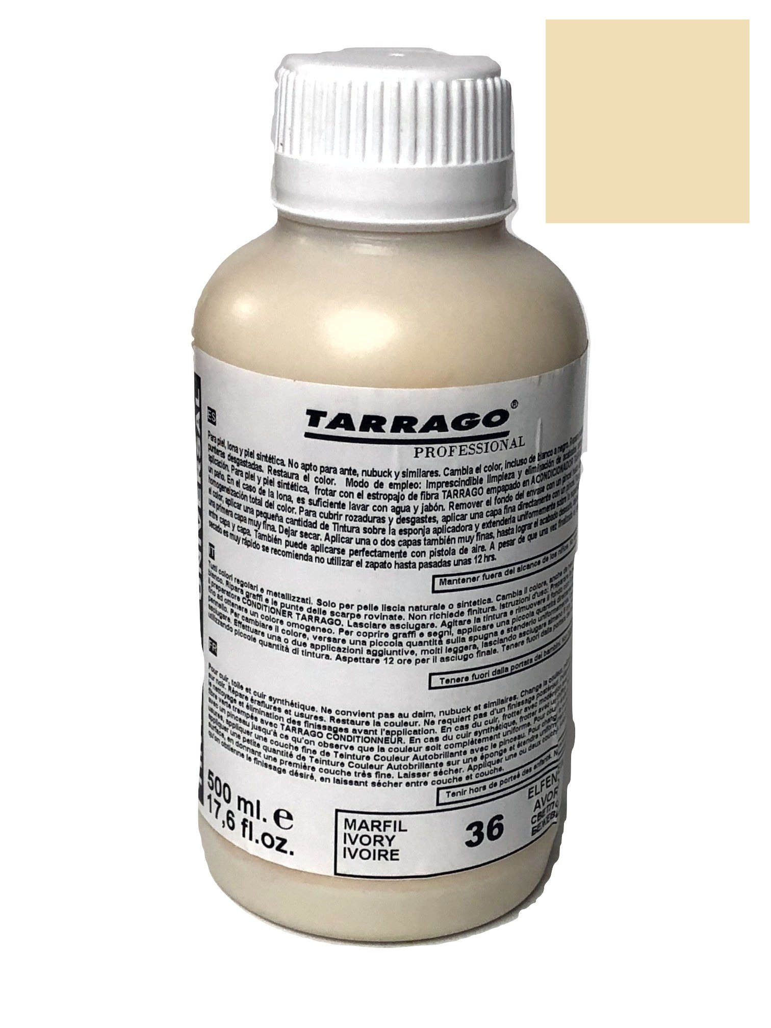 Tarrago Self Shine Color Dye, 500ml (#36 Ivory)