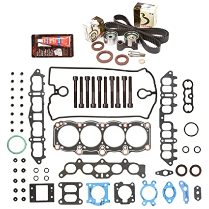 Amazon.com: Evergreen HSHBTBK2039 Head Gasket Set Head Bolts Timing Belt Kit 91-95 Toyota MR2 Celica Turbo 3SGTE: Automotive