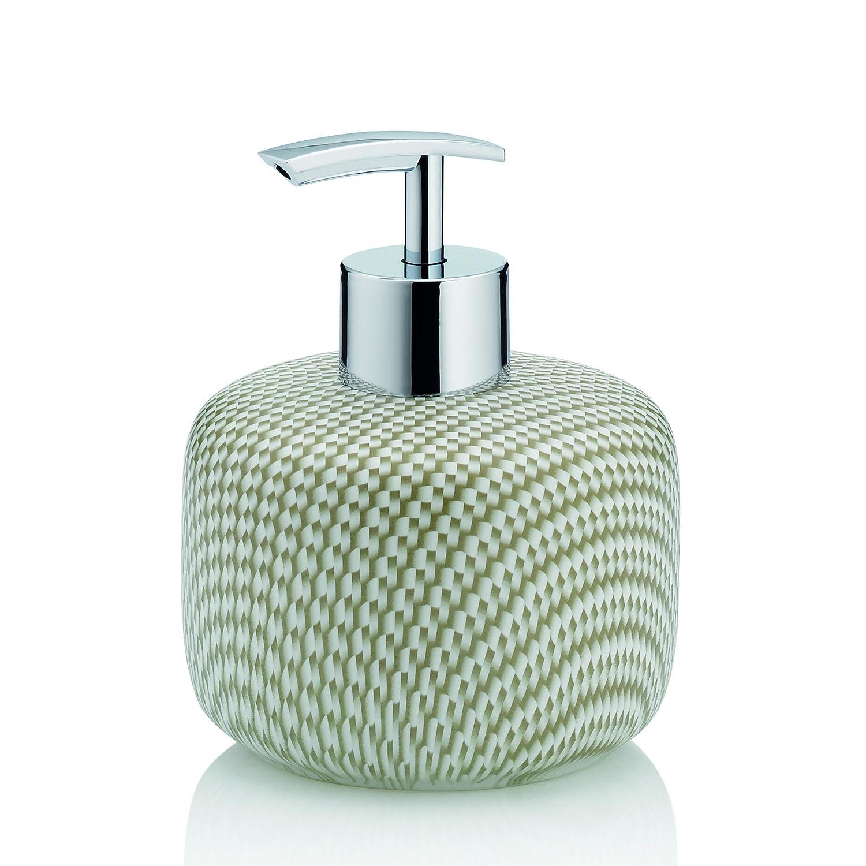 Kess InHouse CarolLynn TICE Announced Aqua Green Round Beach Towel Blanket