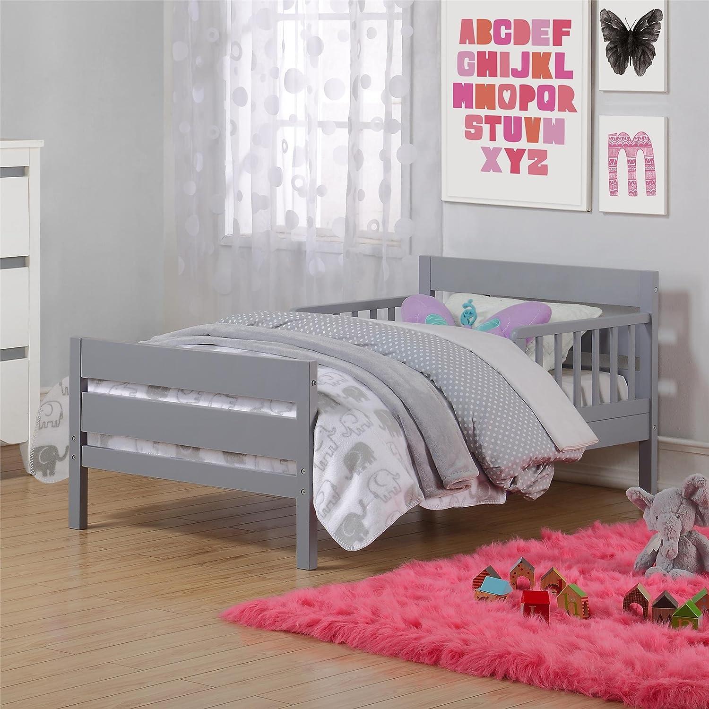 Amazon Baby Relax Cruz Toddler Bed Gray