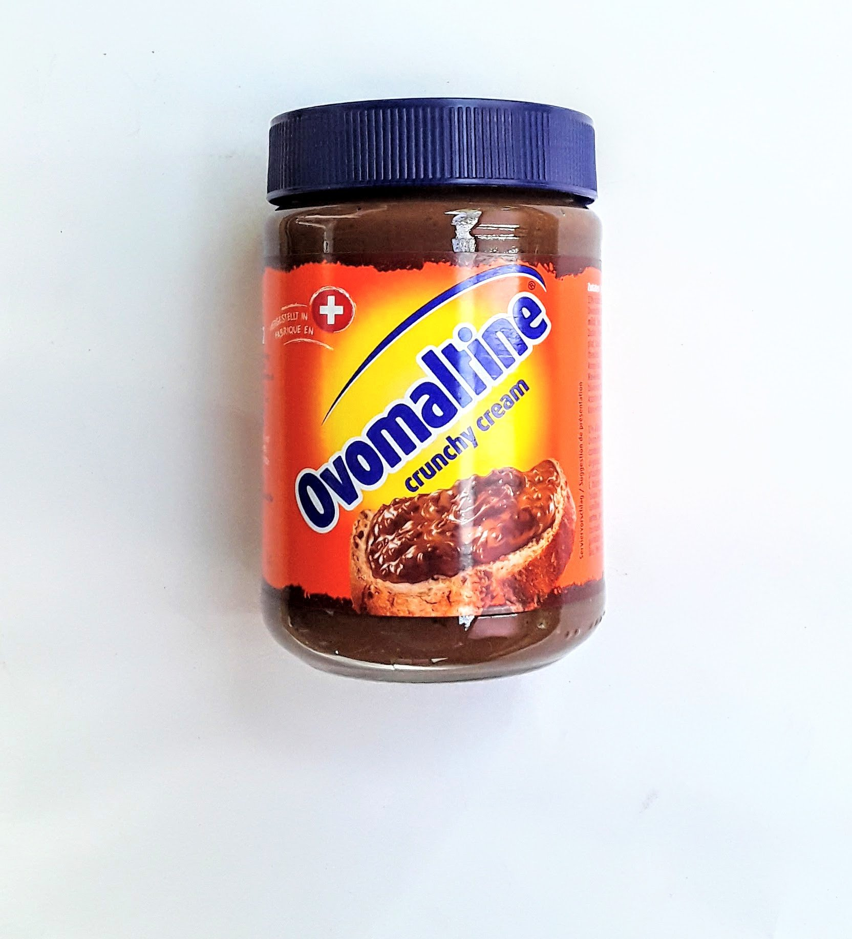 Ovomaltine Crunchy Cream, 800g (Chocolate Spread, 2 X 400g Jars)