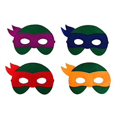 12 Pieces Superheroes Party Fun Cosplay Felt Masks For Boys Girls
