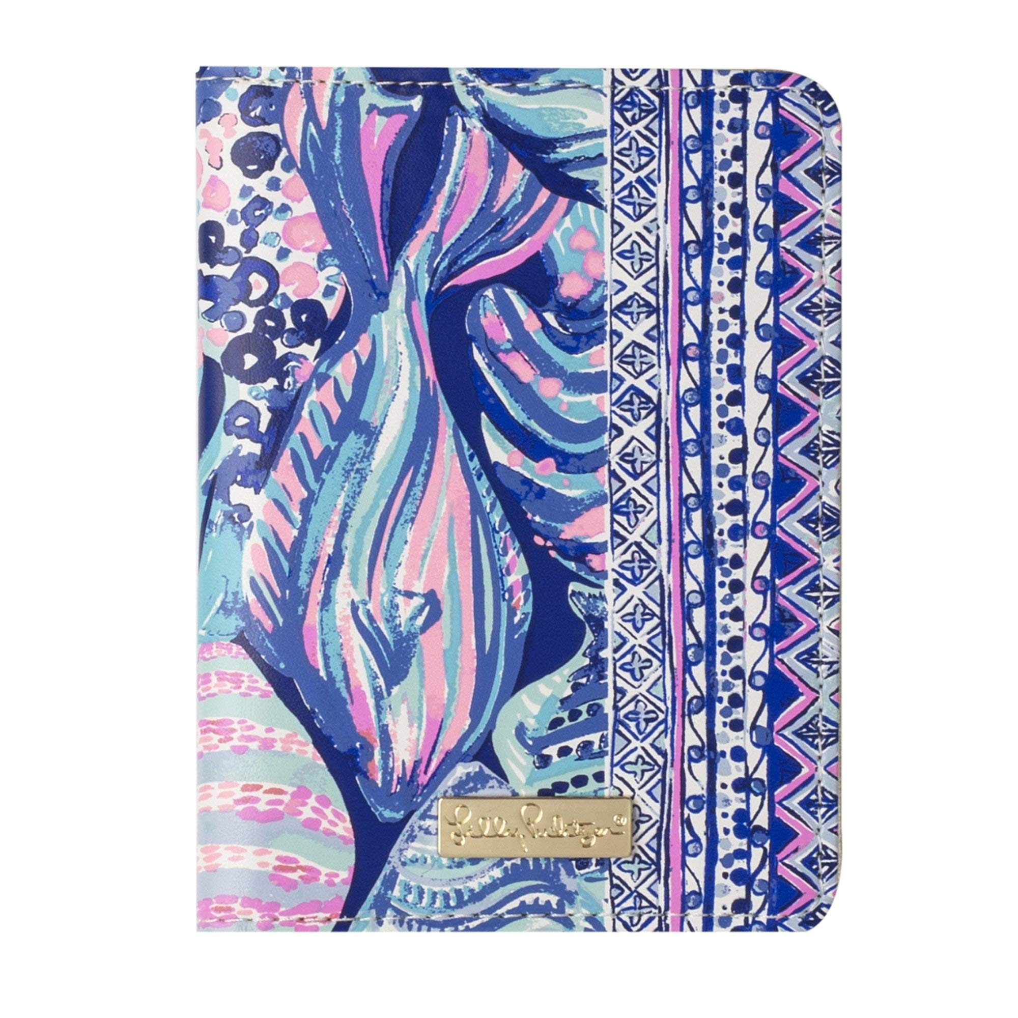 Lilly Pulitzer Passport Cover/Holder/Wallet (Scale Up) by Lilly Pulitzer