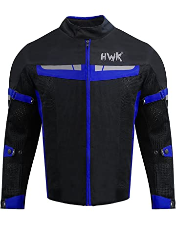 HWK Mesh Motorcycle Jacket Riding Air Motorbike Jacket Biker CE Armored  Breathable (XXX-Large 086321c52