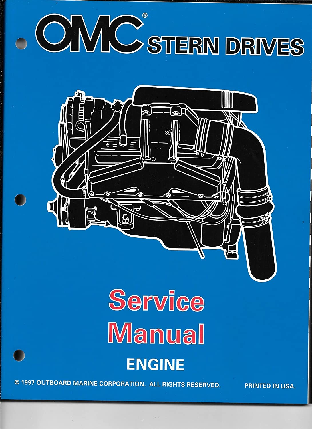 """Amazon.com : 1998 OMC VOLVO SX Cobra, DP DUO PROP """"BY"""" Engine Service Manual  501199 : Sports & Outdoors"""