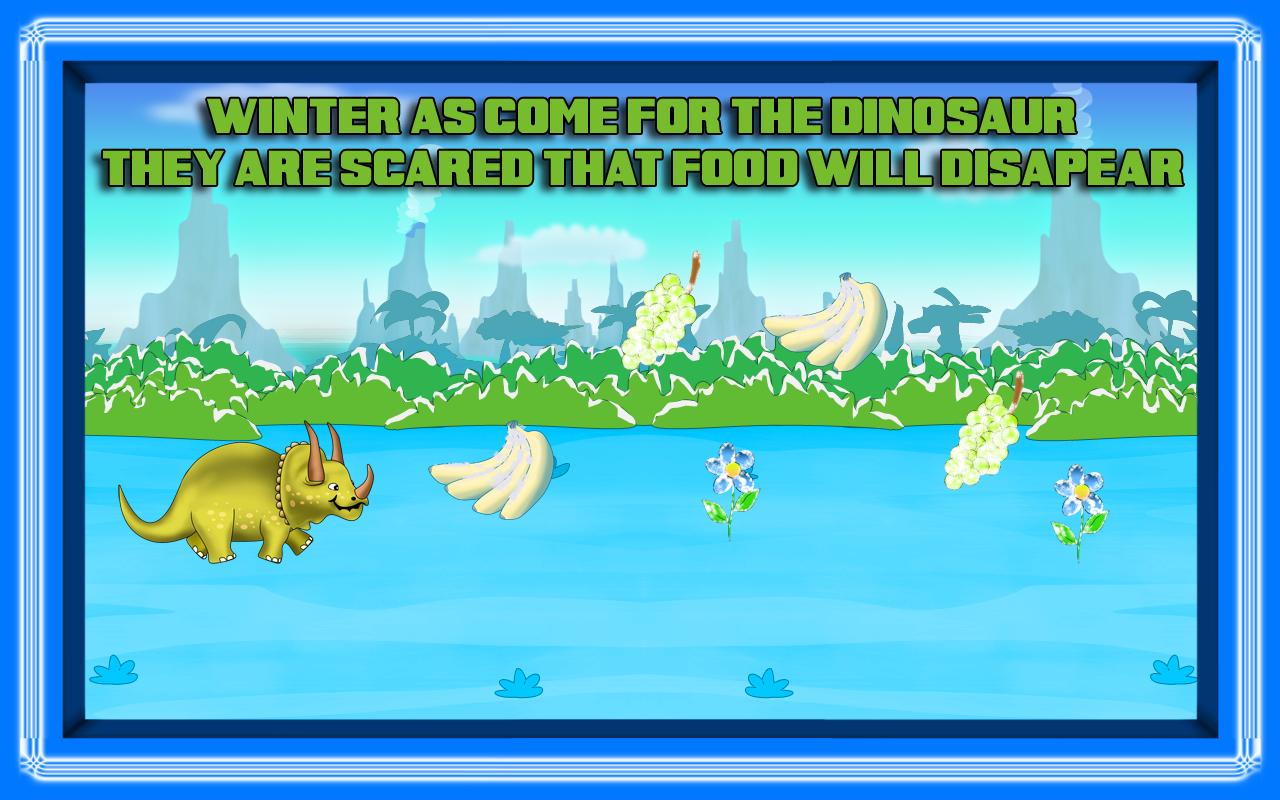 dinossauro ilha 2: o inverno era do gelo batalha comida aventura pré-histórica - edição gratuita