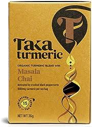 TAKA TURMERIC Organic Golden Chai 15sach (PACK OF 1)
